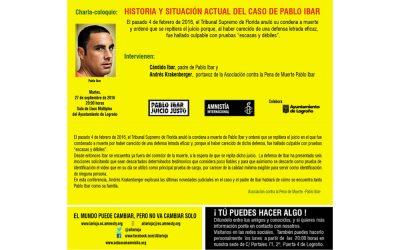 La Asociación de Pablo Ibar acude a Logroño